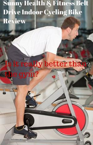 Sunny Health & Fitness Belt Drive Indoor Review