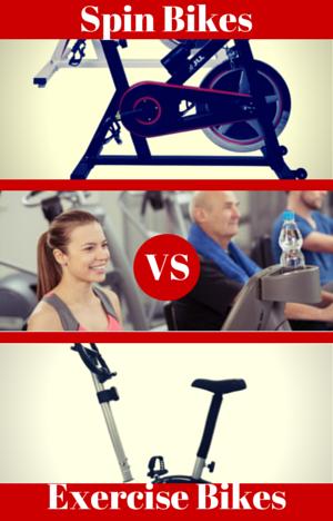 Spin Bikes vs Exercise Bikes