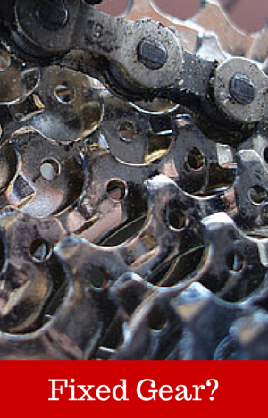 Fixed Gear for Spin Bikes  chains and cogs
