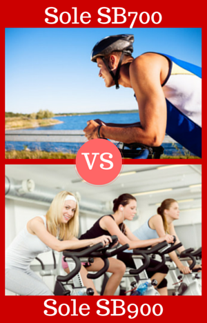 Sole Fitness SB700 vs SB900 Indoor Cycles