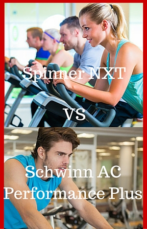 spinner nxt vs schwinn ac performance