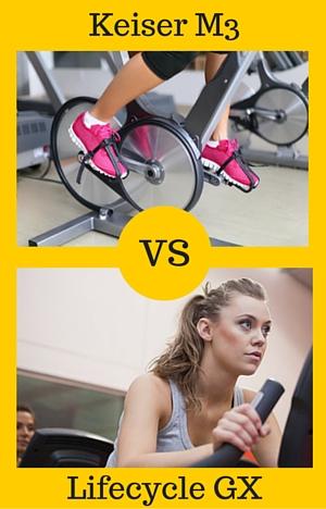 lifecycle gx vs keiser m3