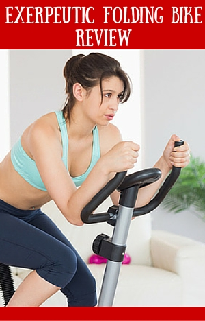 Exerpeutic Folding Magnetic Upright Bike with Pulse Review
