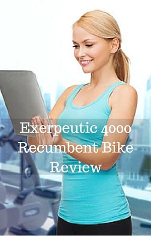 Exerpeutic 4000 Recumbent Bike Review