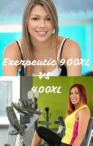 Exerpeutic 900XL vs 400XL
