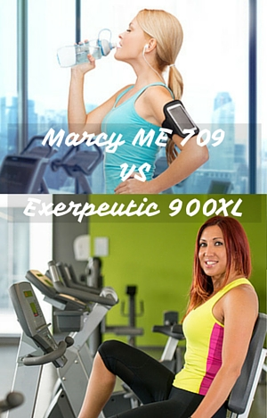 Marcy ME 709 vs Exerpeutic 900XL - They Go Up Against Each