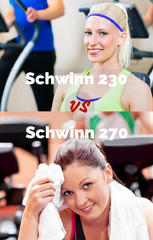 Schwinn 230 vs Schwinn 270