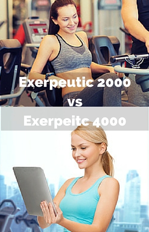 Exerpeutic 2000 vs Exerpeitc 4000