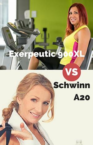 exerpeutic 900xl vs schwinn a20