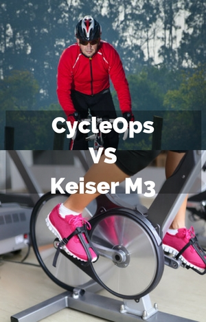 Keiser M3 vs CycleOps