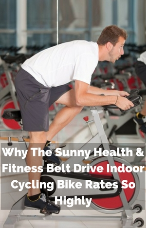 Why The Sunny Health & Fitness Belt Drive Indoor Cycle Rates So Highly - man exercising
