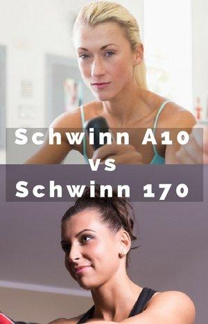 Schwinn A10 vs Schwinn 170 women on bikes
