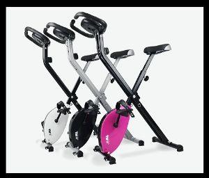 3 Folding Exercise Bikes