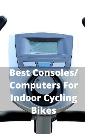 Best Consoles-Computers For Indoor Cycling Bikes With Up close example