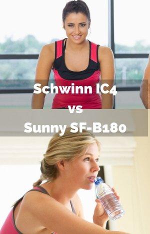 Schwinn IC4 vs Sunny SF-B1805
