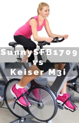 Sunny SB-B1709 vs Keiser M3i Compared and Contrasted