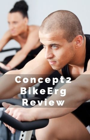 Concept2 BikeErg Review intense man